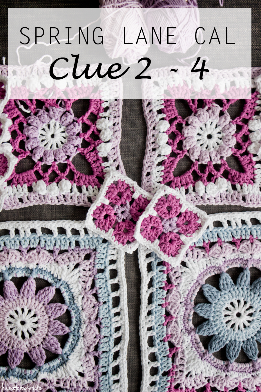 Spring Lane Cal von Drops Design - Clue 2 bis 4 - Drops Along